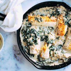 SWIISH-creamy-and-dreamy-one-pan-salmon